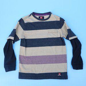 Quiksilver Boy's Layered Look Long-Sleeve T-shirt
